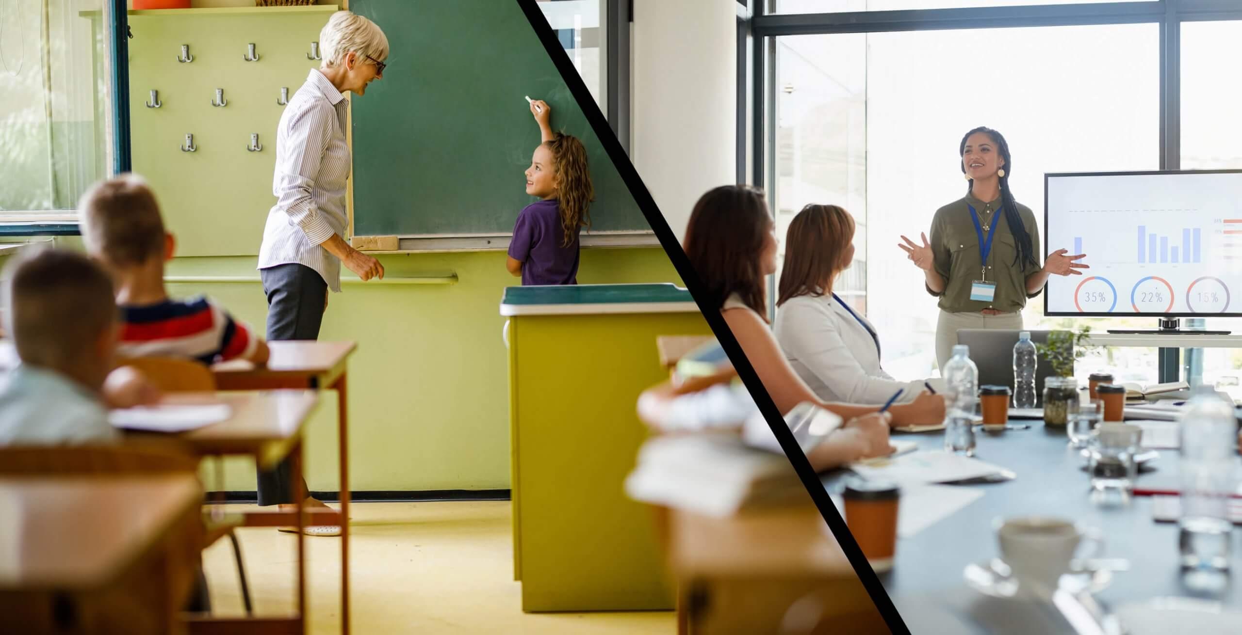 מה הקשר בין העבודה שלך לבית הספר?